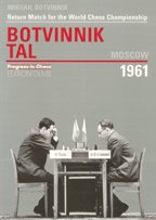 This is the product image for Botvinnik vs Tal Moscow 1961. Detail: Botvinnik, M. Product ID: 3283004617.