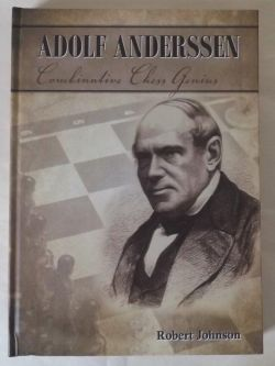 This is the product image for Adolf Anderssen. Detail: Johnson, R. Product ID: 9780646816142.