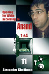 This is the product image for Opening White Anand V11. Detail: Khalifman, A. Product ID: 9789548782692.