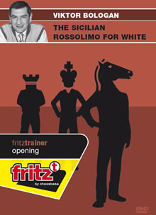 This is the product image for Sicilian Rossolimo for White. Detail: 1 E4 OPENINGS. Product ID: CBFT-BOSRDVD.