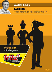 This is the product image for Tactics Volume 3. Detail: MIDDLEGAME. Product ID: CBFT-LMT3EDVD.