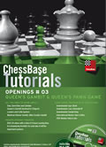 This is the product image for Chessbase Tutorials: Openings #3 Queen's Gambit an. Detail: DVD. Product ID: CBTU3DVDE.