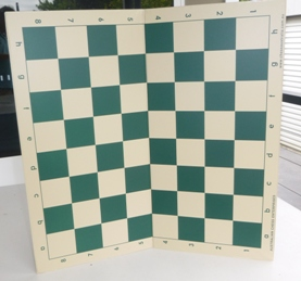This is the product image for Chess Board- Plastic Fold-up. Detail: CHESS BOARD- PLASTIC. Product ID: PCB6.